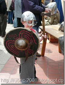 Юный викинг