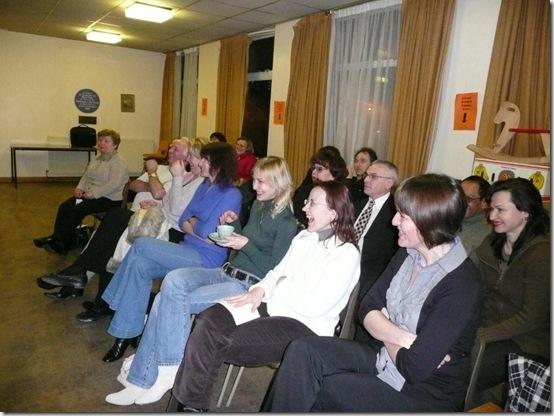 Слушатели в отличном настроении