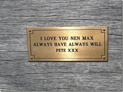 Я люблю тебя, Нен Макс. Сейчас и навсегда. Пит ххх