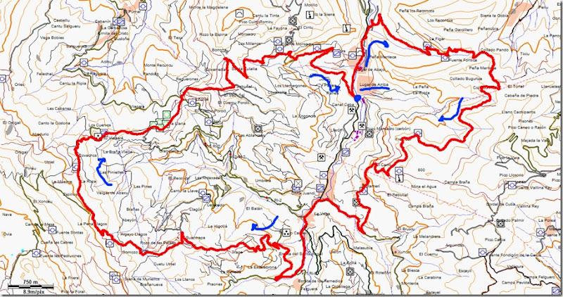 mapa morcin