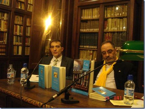 Víctor Guerra y Joaquim Villalta