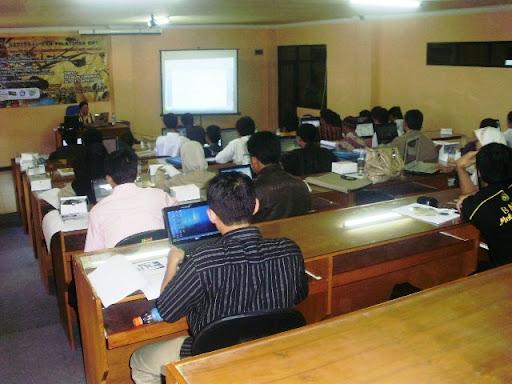 Seminar dan Pelatihan Software BMT / KJKS - Serang Banten - UNTIRTA 25 Mei 2010