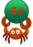 crab-icon ball c#