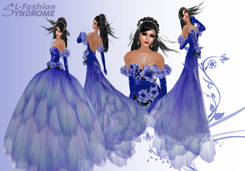New Gown Hibiscus Rose Collection from Designer Nicky Ree
