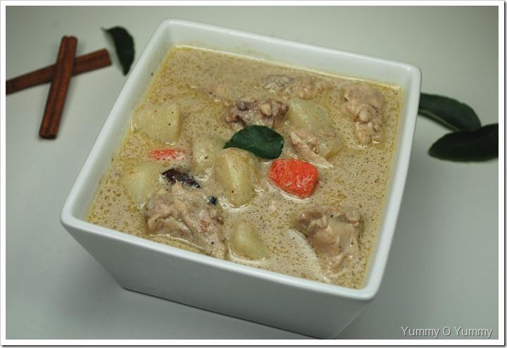 Chicken Stew / Kozhi Stew