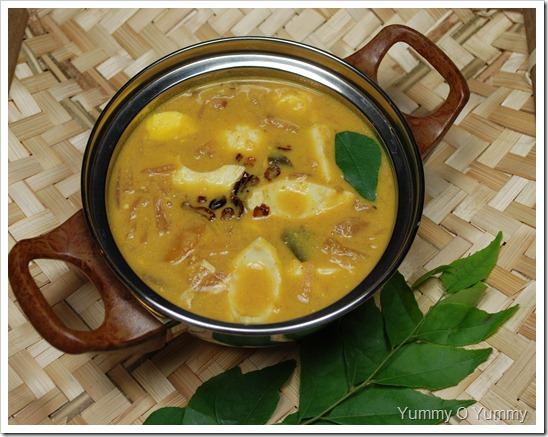 Egg-mango Curry