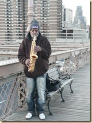 playin' the sax