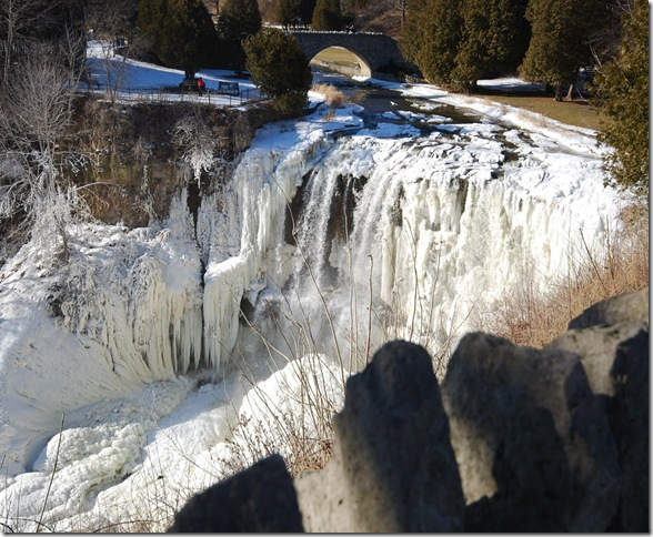 Webster's Falls Icy