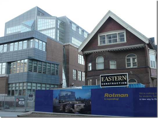 Rotman School construction