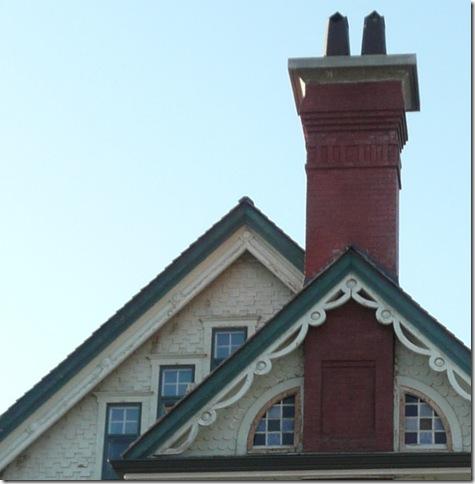gingerbread chimney