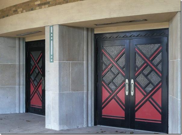 horse palace doors