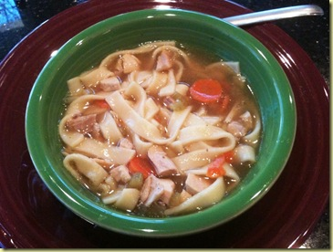 Barb's Own Chicken Noodle Soup