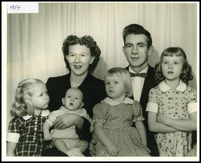 studio pix 1954 bef Daddy's decision