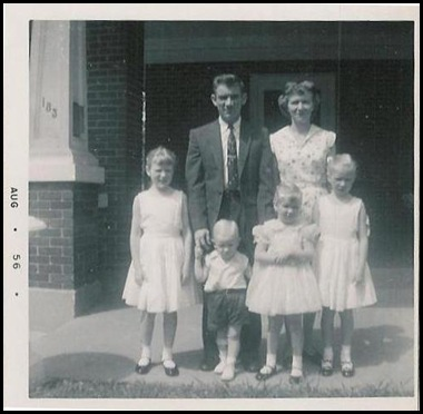1956 at helena a few mos aft Daddy's decision