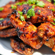 Honey Chipotle-Glazed Wings