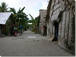 Takuu village