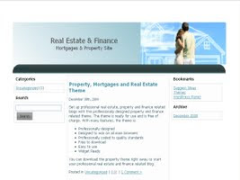 Real Estate and Mortgages 1