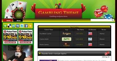 Casino Wordpress Theme - wpg129