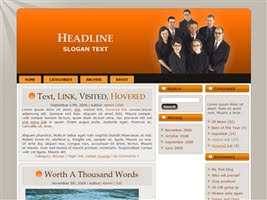 Wordpress Theme 9