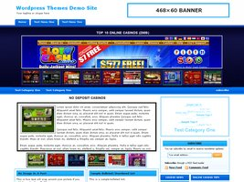 Online Casino Template 539