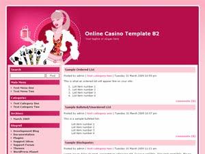 Online Casino Template 82