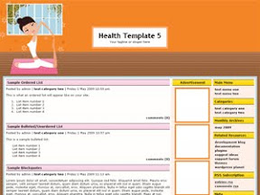Health Template 5
