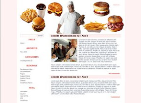 Food theme2 free wordpress theme