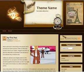 Feather-pen Free Wordpress Theme