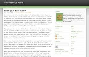 Freedom Green Widgetized Free Wordpress Theme