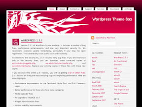Pink Lily Free Wordpress Theme