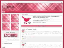 Pink Desire Wordpress Theme