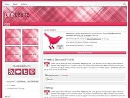 Pink Desire Wordpress Theme