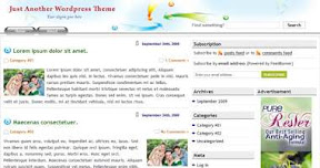 Free Wordpress Theme - colorpark