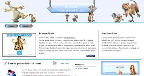 Free Wordpress Theme - IceAge