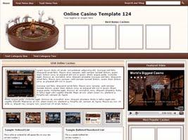 Online Casino Template 124