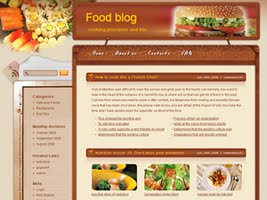 Blogging delicious free wordpress theme