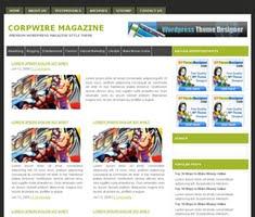Corpwire Magazine Theme