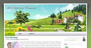Free Wordpress Theme - FRESHEST