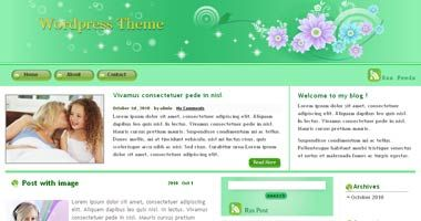 Free Wordpress Theme – GreenPlus