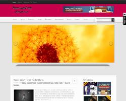 PremiumPink Magazine WordPress Theme