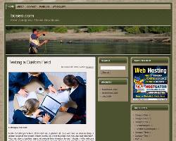Sport Fishing WP Theme 2