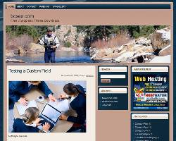 Sport Fishing WP Theme 1