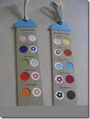 new color bookmarks