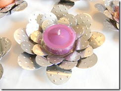 flower tea lights 1