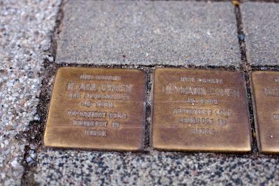 Stolperstein für Clara Cohen vor dem Haus Elsässer Str.aße 114 in Bremen