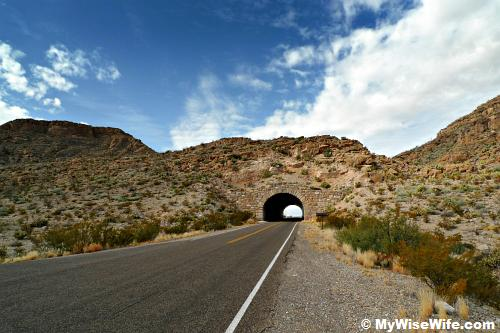 Rio Grande Tunnel of Big Bend National Park, Texas