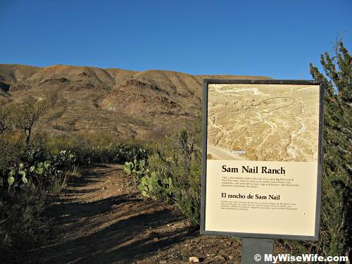 Sam Nail was one of early ranchers at Big Bend NPS