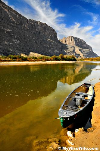 The boat completes one's journey on Rio Grande!