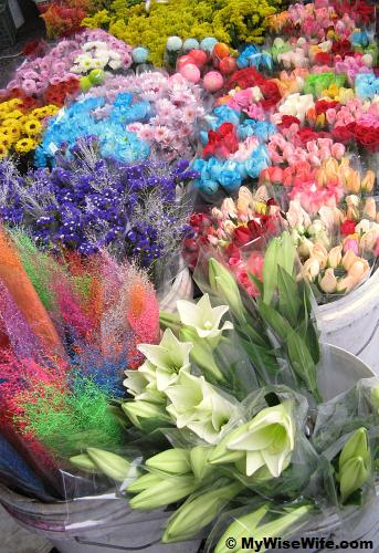 Colors of flowers