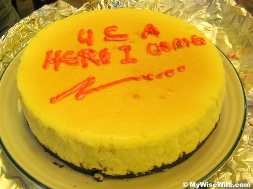 Thanks Bro O - I really miss your cheese cake!